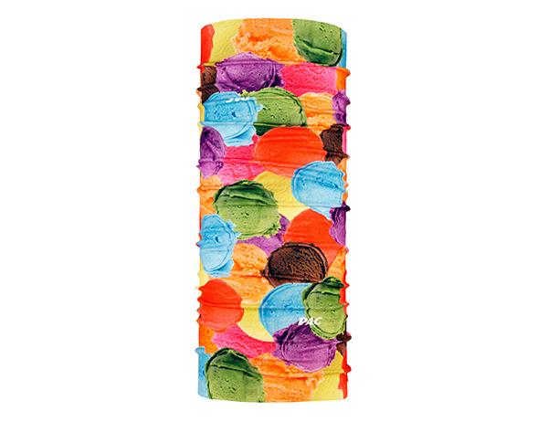 Многофункционална детска кърпа за глава PAC UV Protector+ Kids Ice Cream