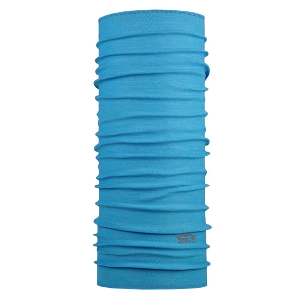 Многофункционална кърпа за глава от мерино вълна PAC Merino Tech Mali Blue