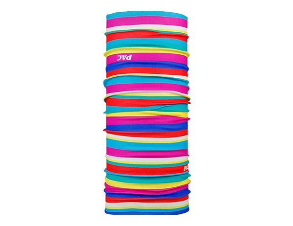 Многофункционална детска кърпа за глава PAC UV Protector+ Kids Lines Mix