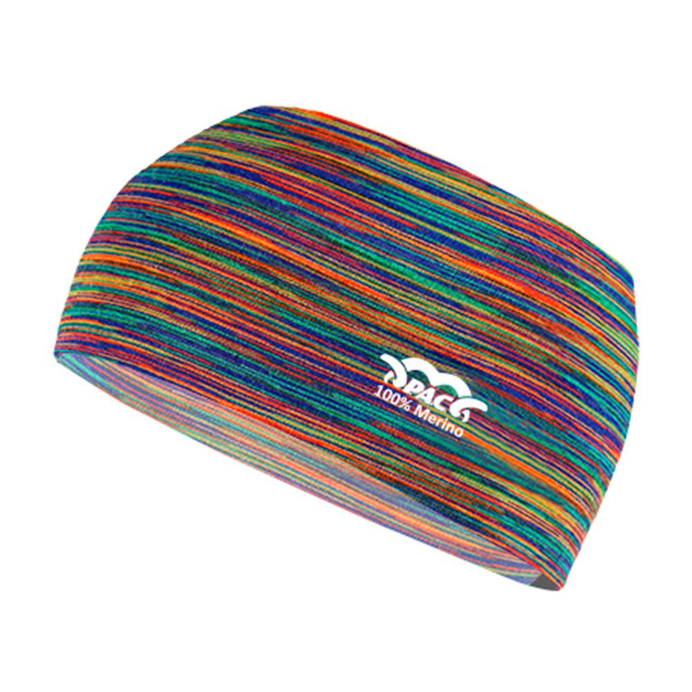 Лента за глава PAC Merino Headband Multi Rainbows