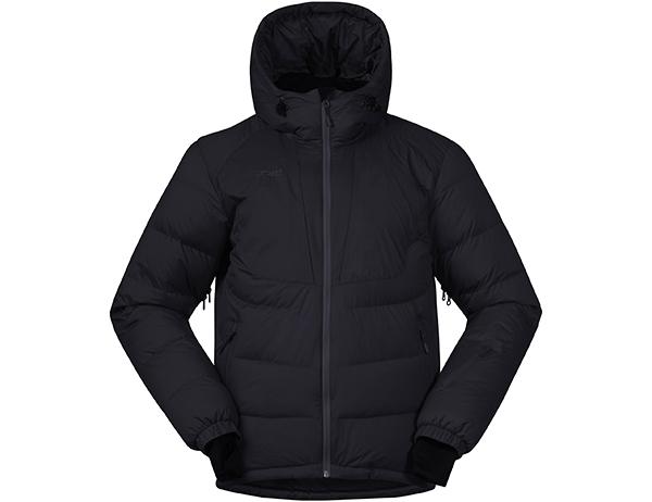 Мъжко пухено ски яке Bergans Sauda Down Jacket Black 2019