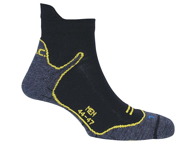 Дамски туристически чорапи PAC Trekking Superlight Women завъртян чорап