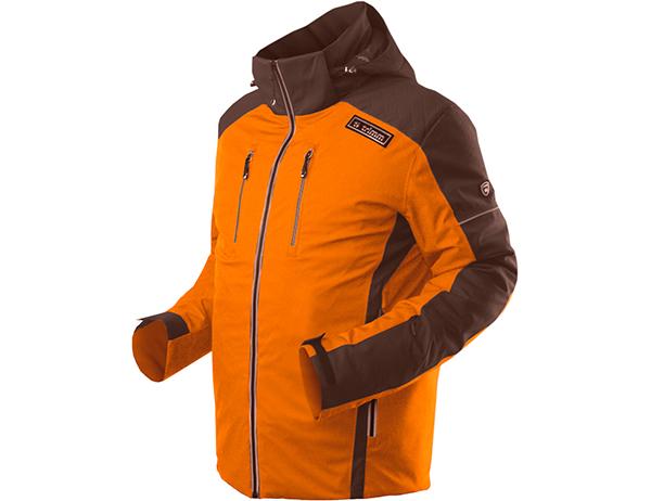 Мъжко ски яке Trimm Antony Orange Dark Brown модел 2018