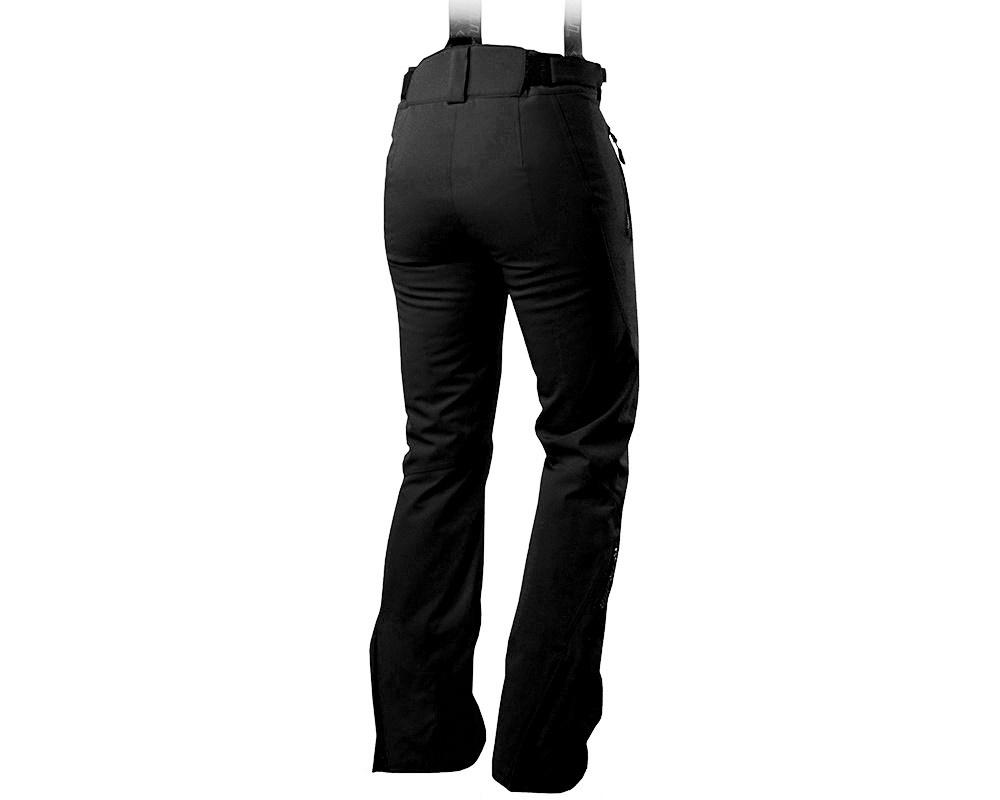Гръб на дамски ски панталон с мембрана и изолация Trimm Darra Black