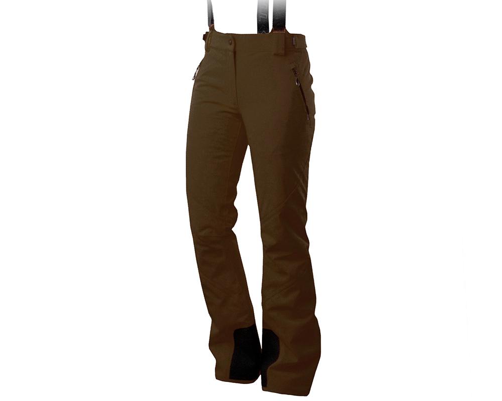 Дамски ски панталон Trimm Darra Brown