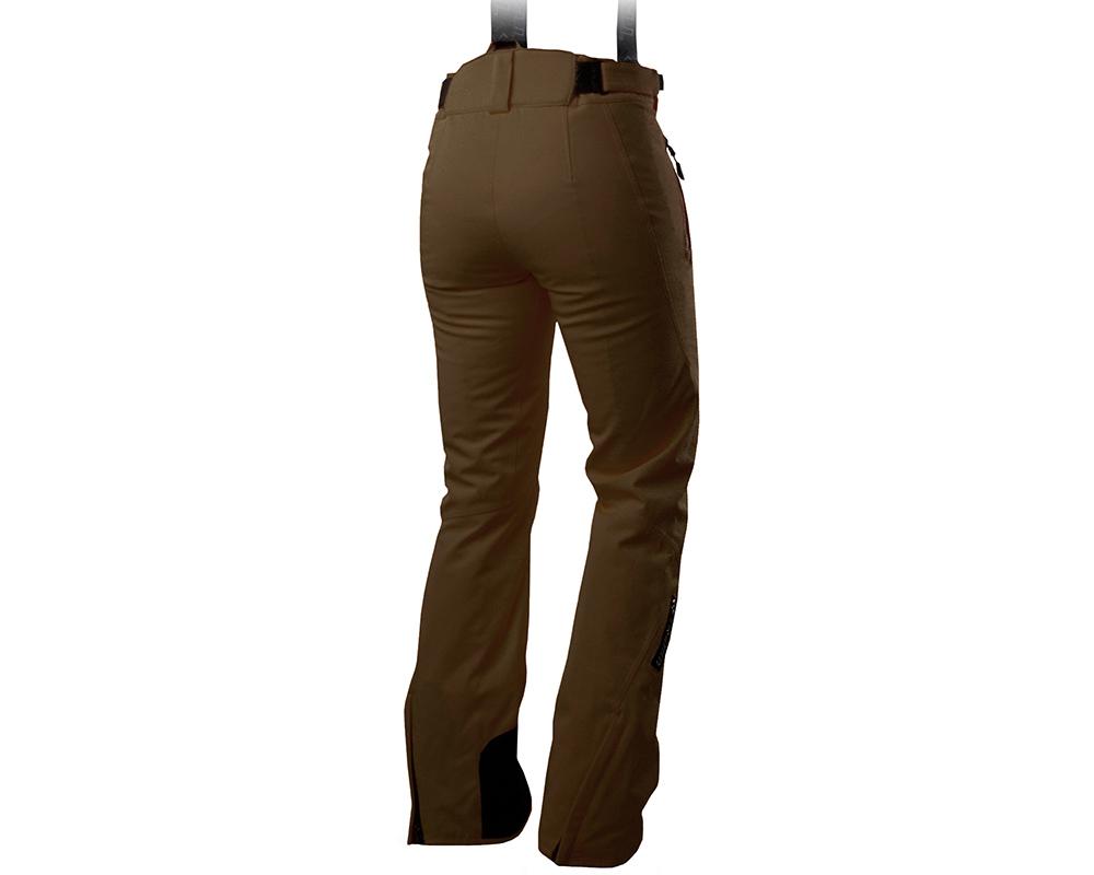 Гръб на дамски ски панталон Trimm Darra Brown