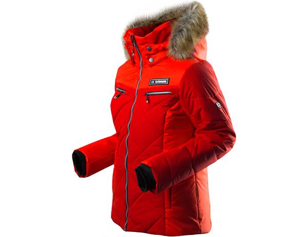 Дамско ски яке Trimm Regina Dark Red модел 2018