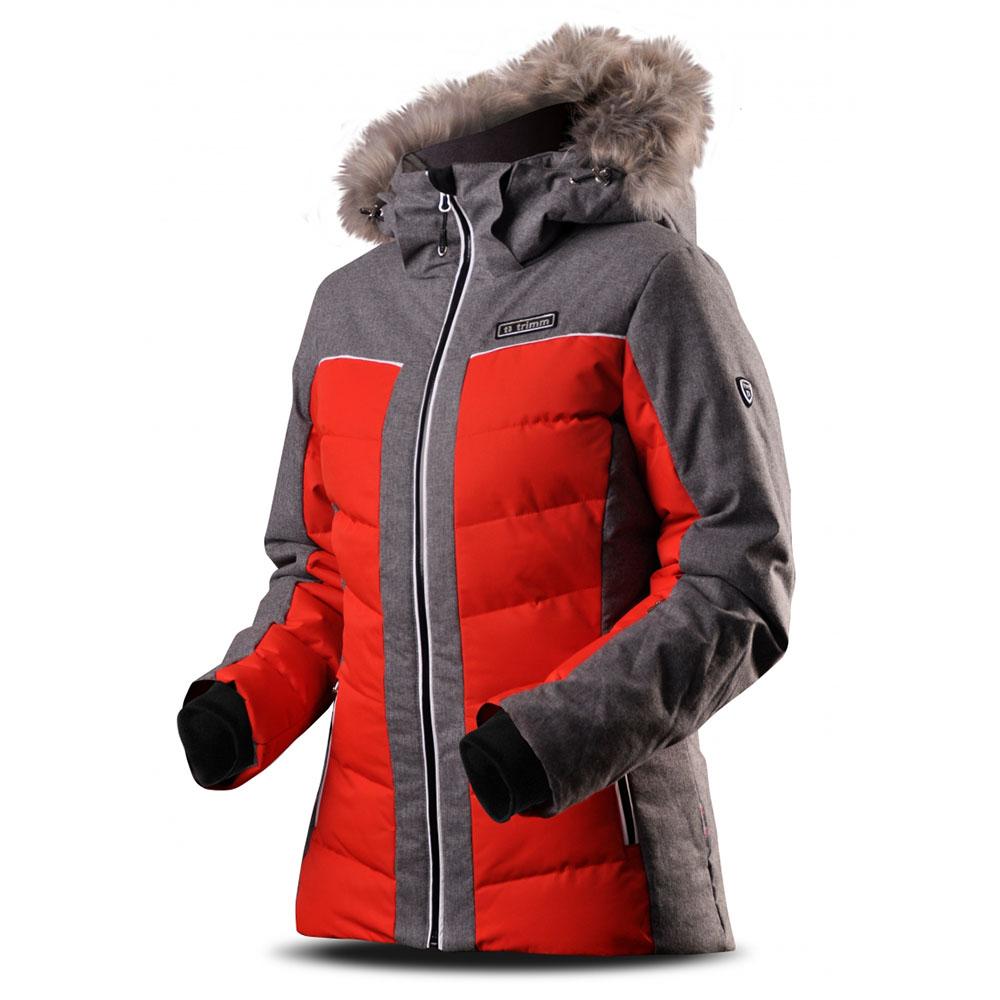 Дамско ски яке с изолация Trimm Cortina Red Grey Melange