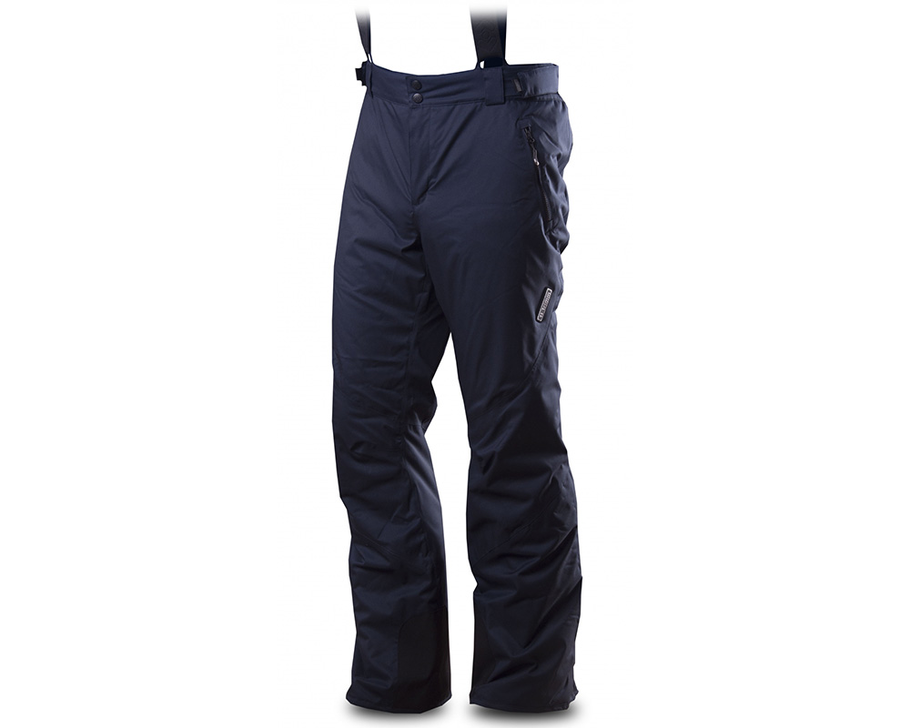 Лице на мъжки хардшел ски панталон Trimm Derryl Navy 2019