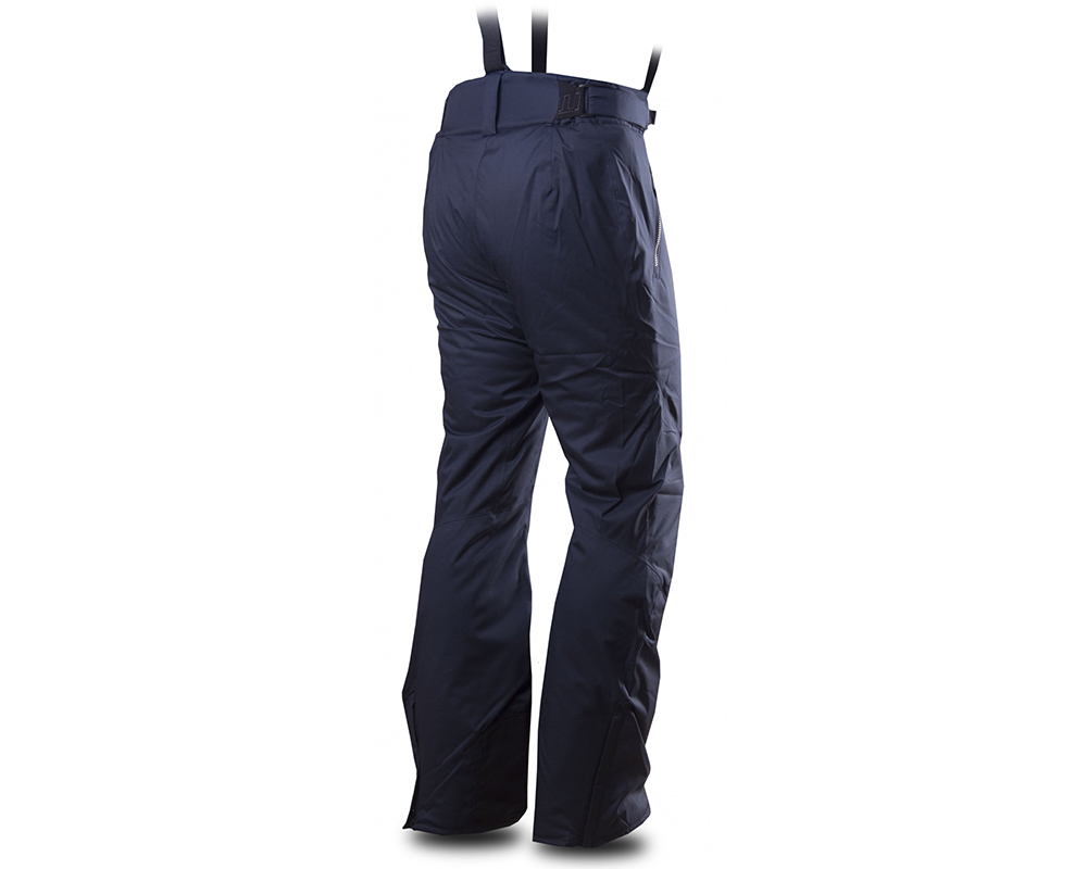 Гръб на мъжки хардшел ски панталон Trimm Derryl Navy 2019