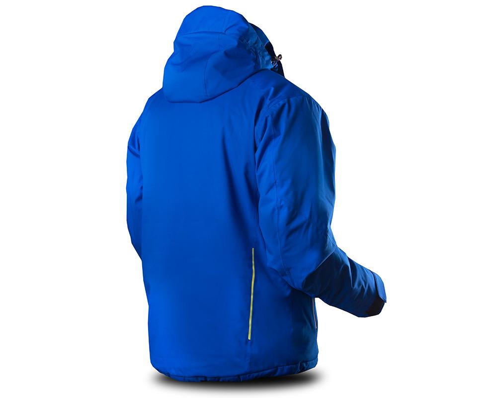 Гръб на мъжко ски яке Trimm Falcon Royal Blue 2019