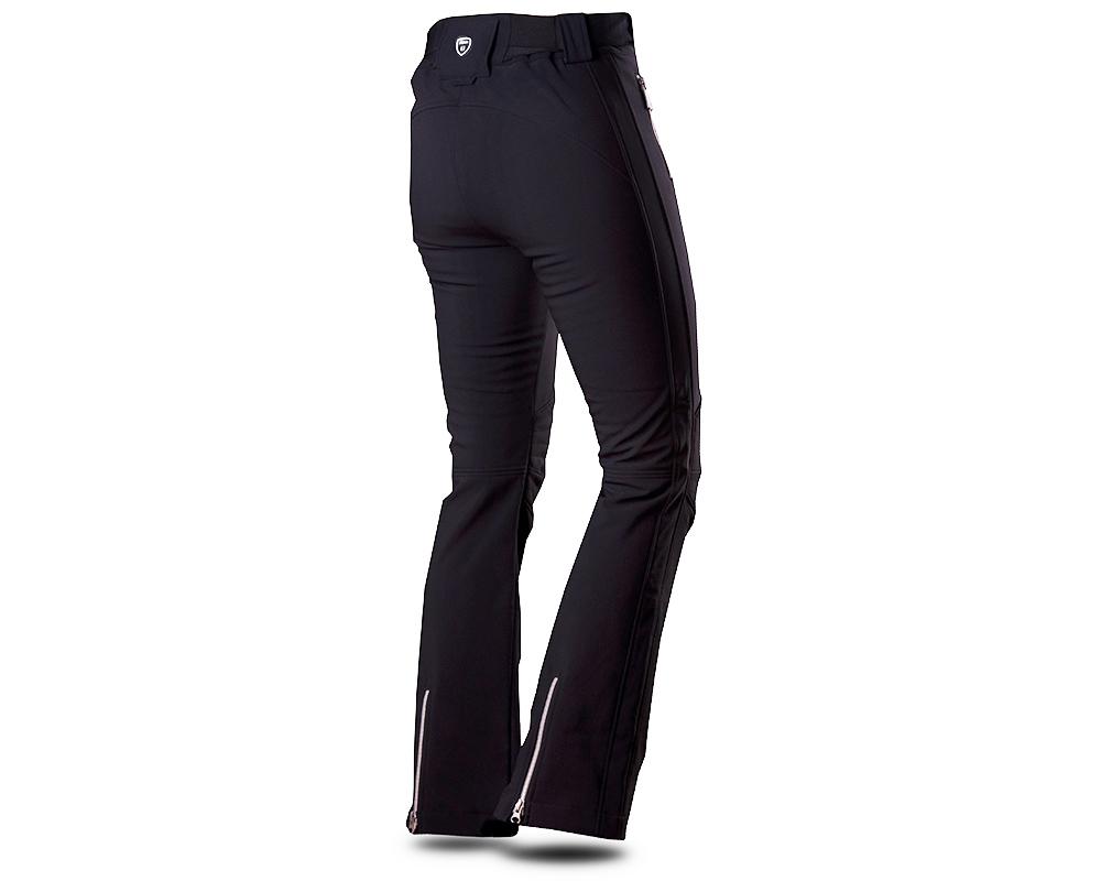 Гръб на дамски софтшел ски панталон Trimm Lara Black 2019