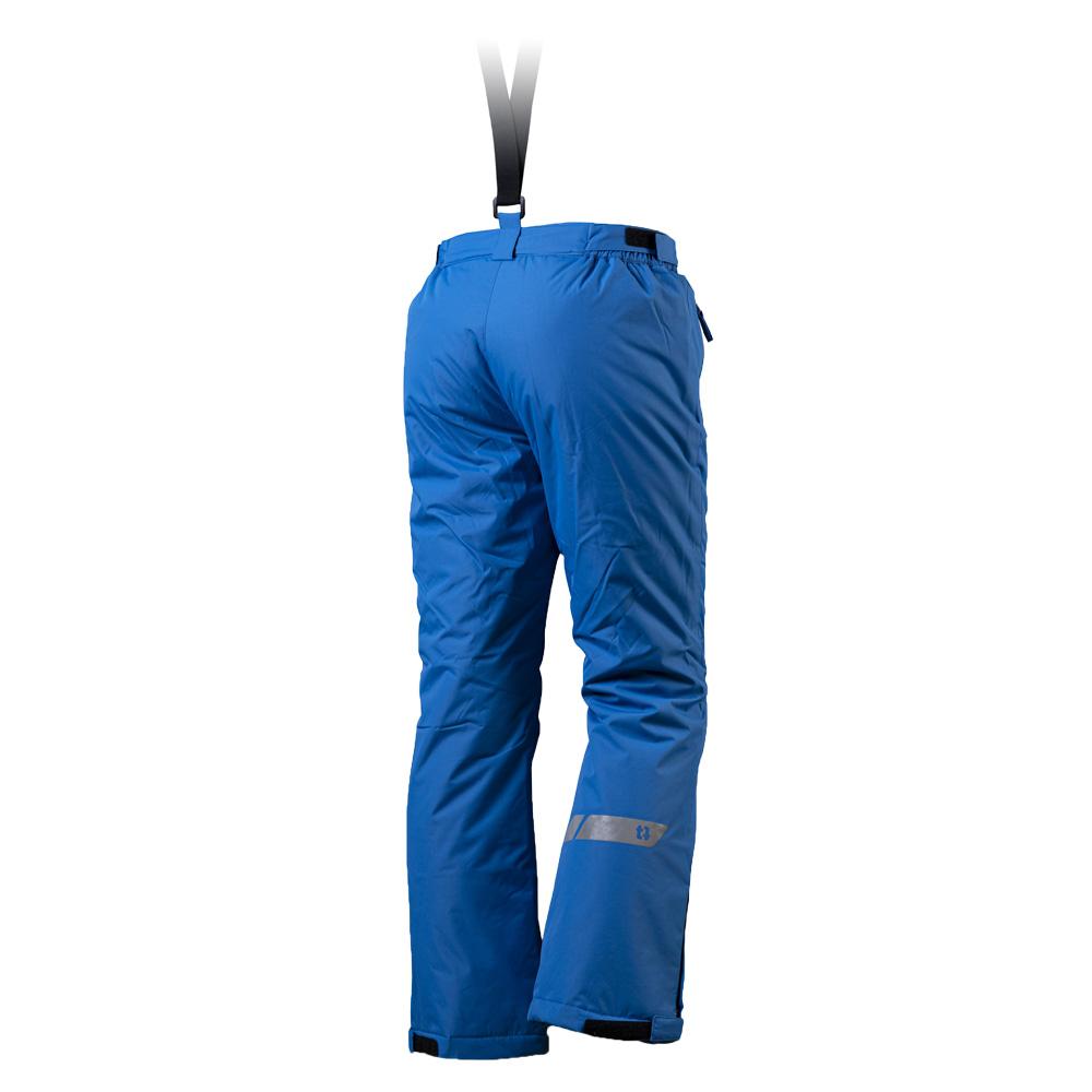 Гръб на детски панталон за ски с изолация Trimm Sato Pants Junior Jeans Blue