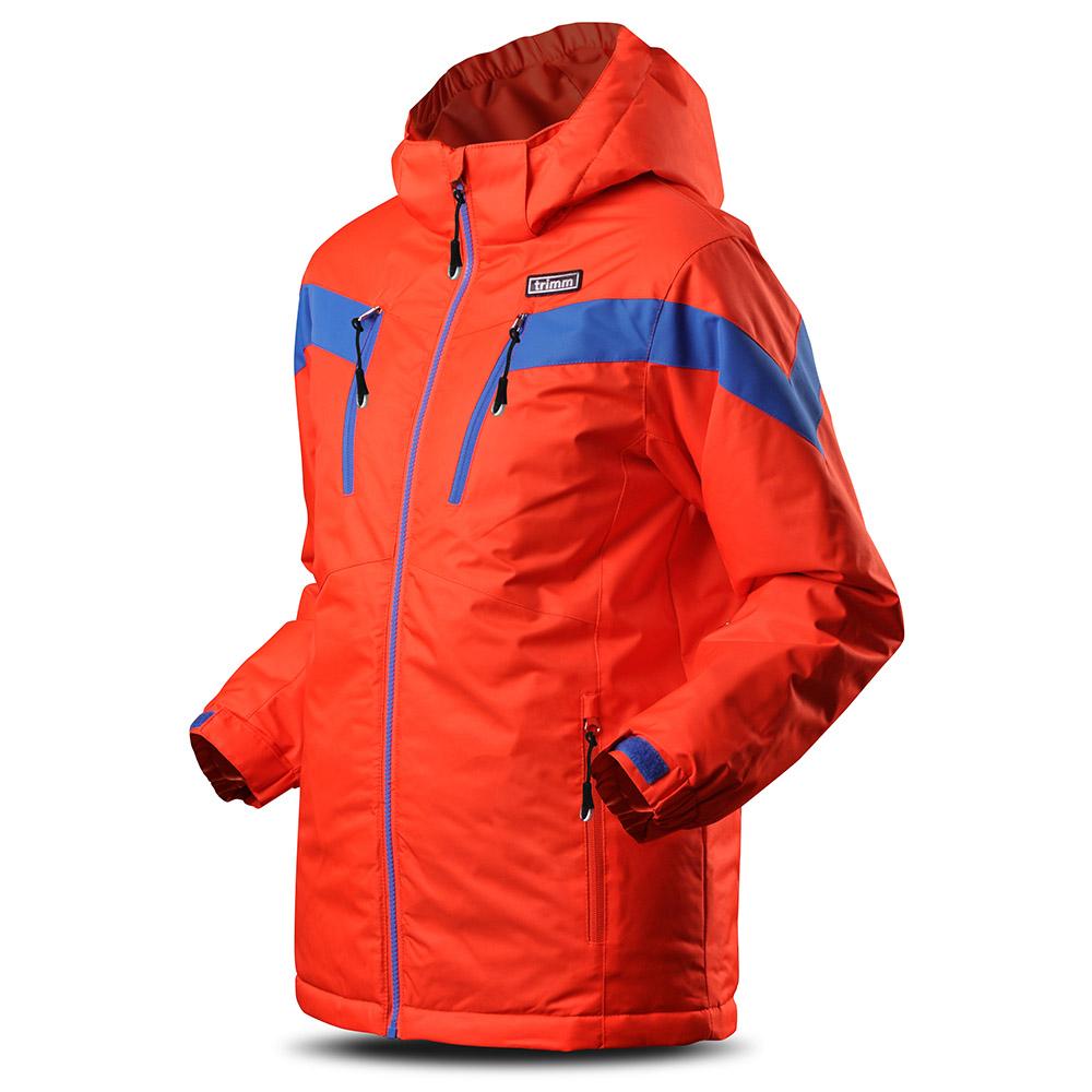 Лице на детско яке за ски с изолация Trimm Sato Junior Signal Orange