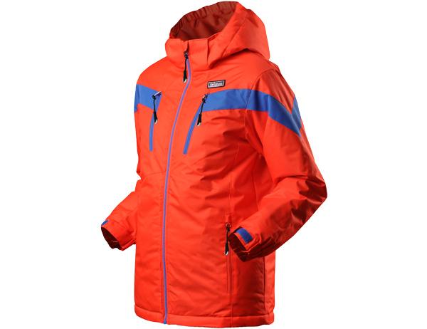 Детско яке за ски с изолация Trimm Sato Junior Signal Orange