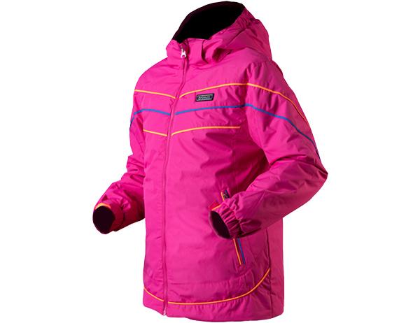 Детско яке за ски с изолация Trimm Rita Junior Pinky Stripes