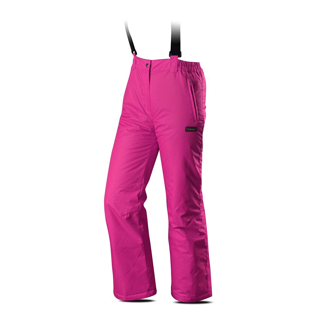 Лице на детски панталон за ски с изолация Trimm Rita Pants Junior Pinky