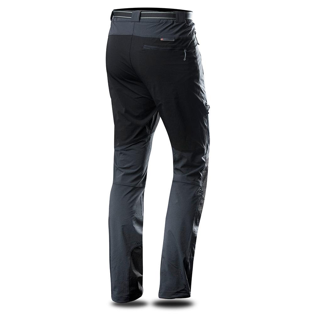 Гръб на мъжки туристически панталон Trimm Taipe Graphite 2019