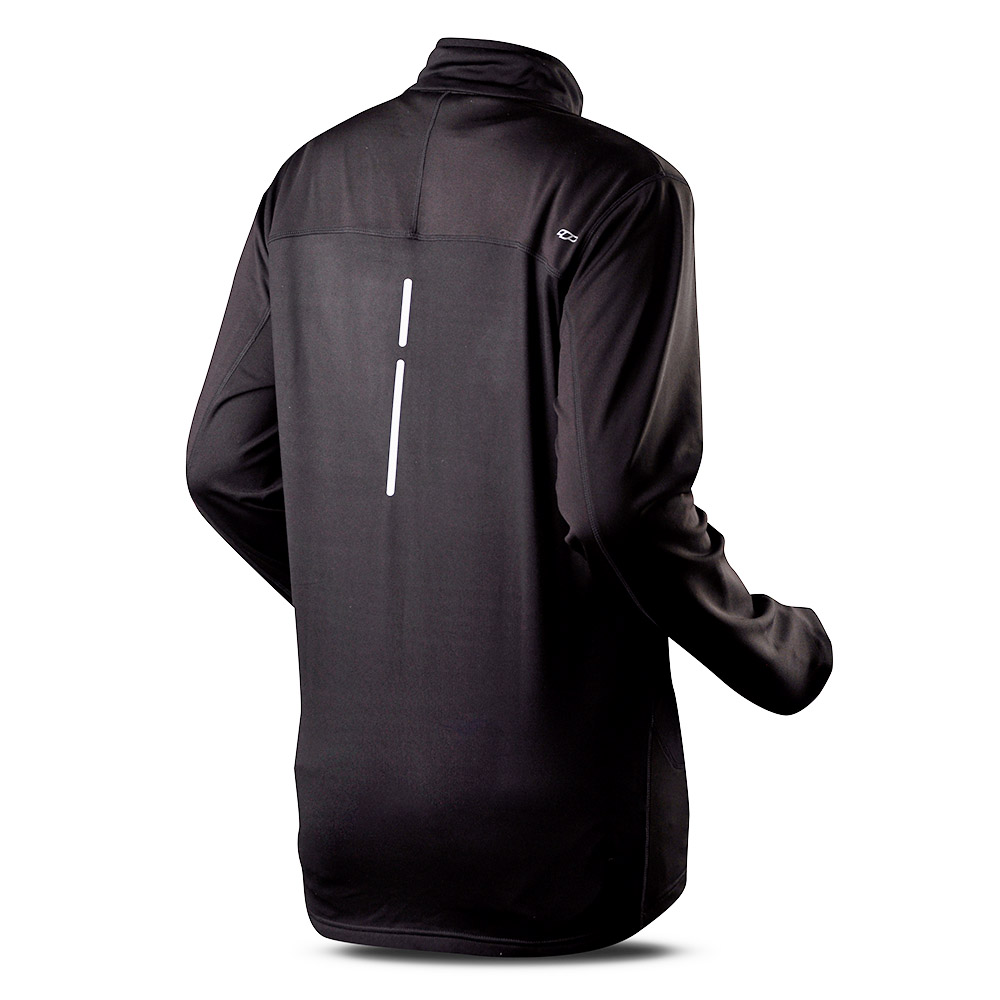 Мъжко поларено яке Trimm Tero Black Grafit Black
