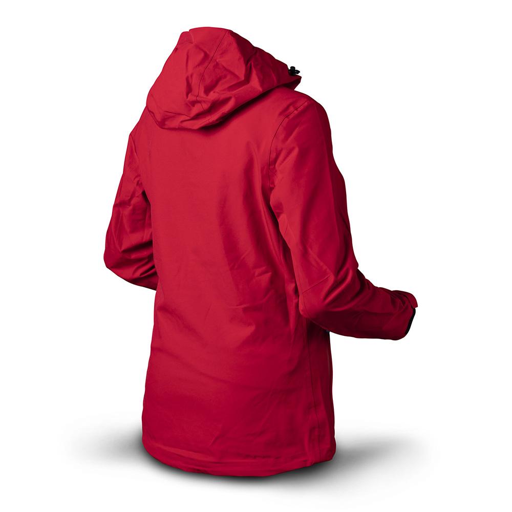 Гръб на Дамско хардшел яке Trimm Intensа Red 2020