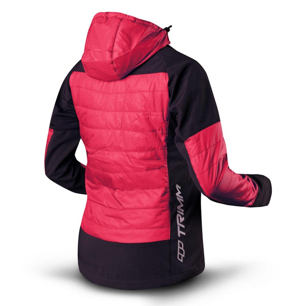 Гръб на дамско яке с изолация Trimm Marola Red 2021