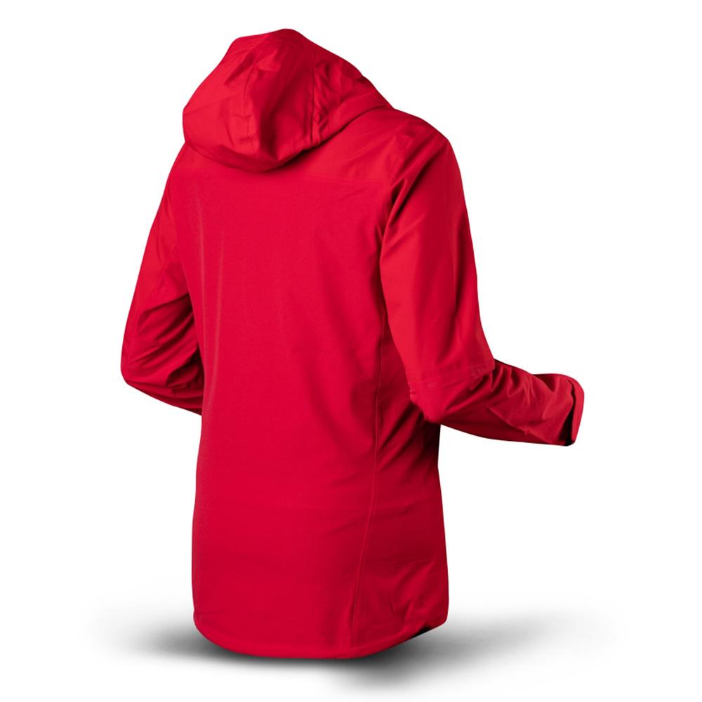 Гръб на дамско хардшел яке Trimm Orada Red / Blue 2021