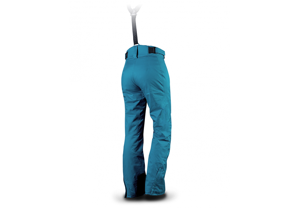 Гръб на Trimm Darra Lady Ski Pants Lagoon 2022
