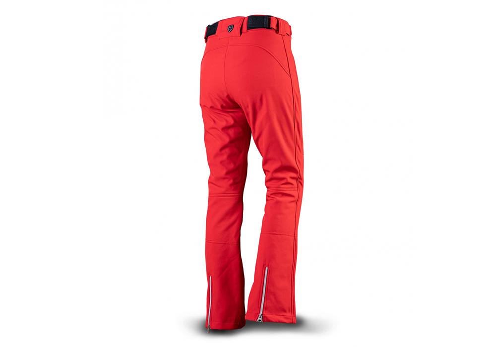 Гръб на дамски софтшел ски панталон Trimm Vasana Red 2022