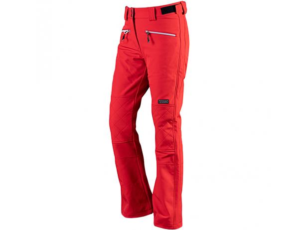 Дамски софтшел ски панталон Trimm Vasana Red 2022