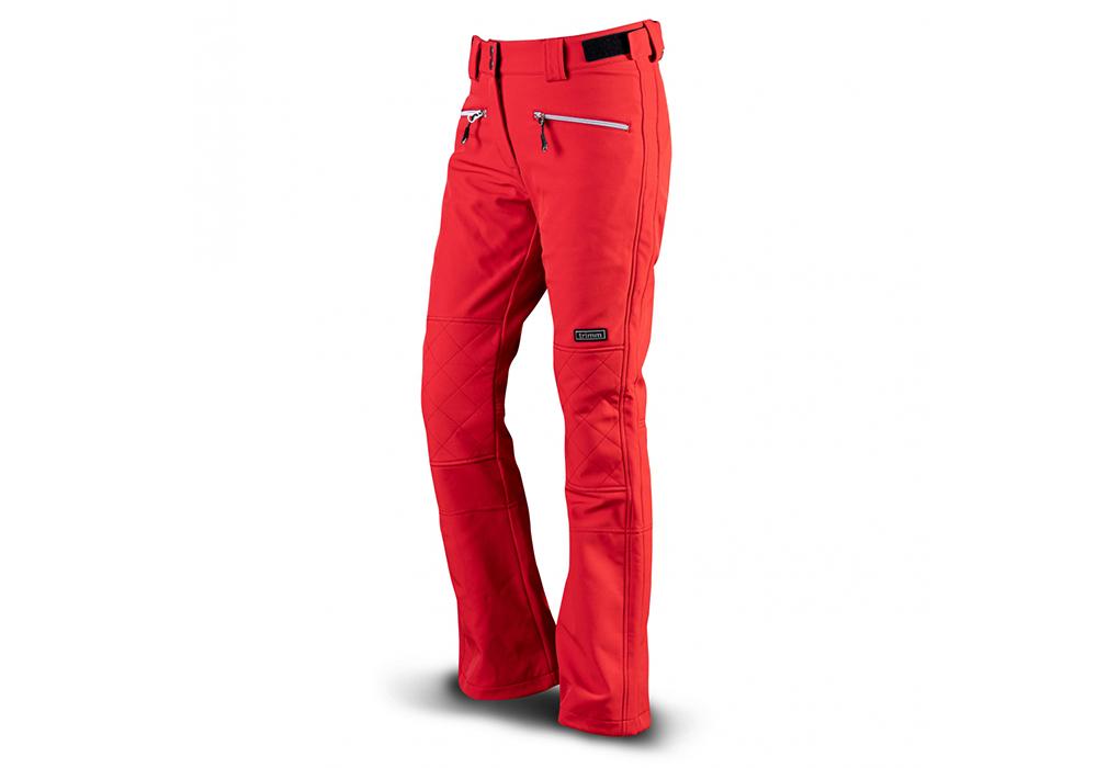 Лице на дамски софтшел ски панталон Trimm Vasana Red 2022