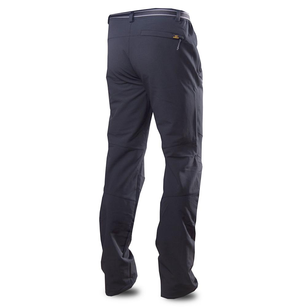 Гръб на мъжки туристически панталон Trimm Caldo Grafit Black 2019
