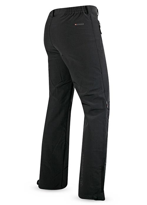 Гръб на мъжки туристически софтшел панталон Trimm Motion