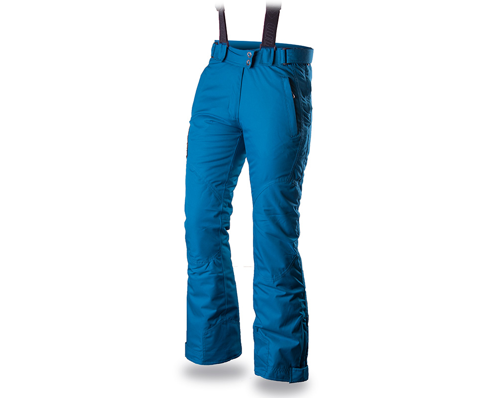 Лице на дамски ски панталон за ски Trimm Narrow Lady Lagoon 2019