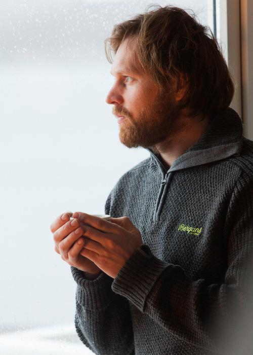 Мъжки пуловер Bergans Ulriken Jumper lifestyle