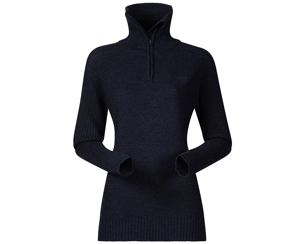 Дамски пуловер от мерино вълна Bergans Ulriken Lady Jumper Melange