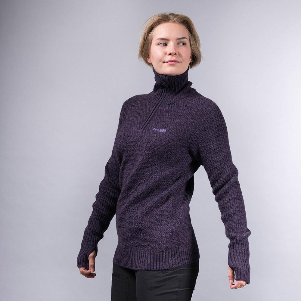 Дамски пуловер от мерино вълна Bergans Ulriken Lady Jumper