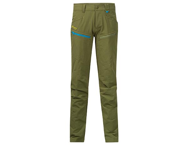 Детски туристически панталон за момчета Bergans Utne Youth Boy Green Tea