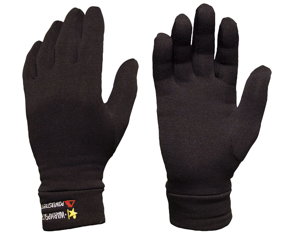 Поларени ръкавици за туризъм и ежедневие Warmpeace Powerstretch Gloves