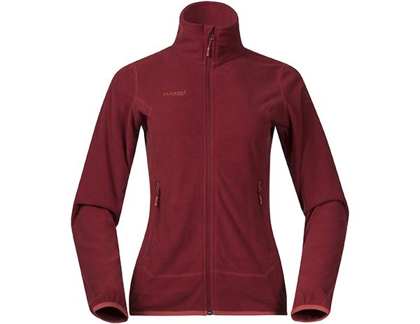 Дамско поларено яке Bergans Ylvingen Lady Jacket Bordeaux Lounge 2019