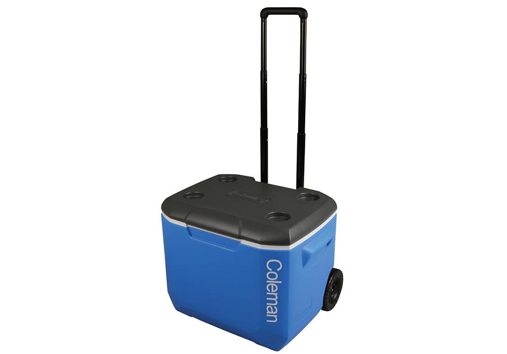 Телескопична дръжка на хладилна чанта с колела Coleman 60QT Performance Wheeled Cooler