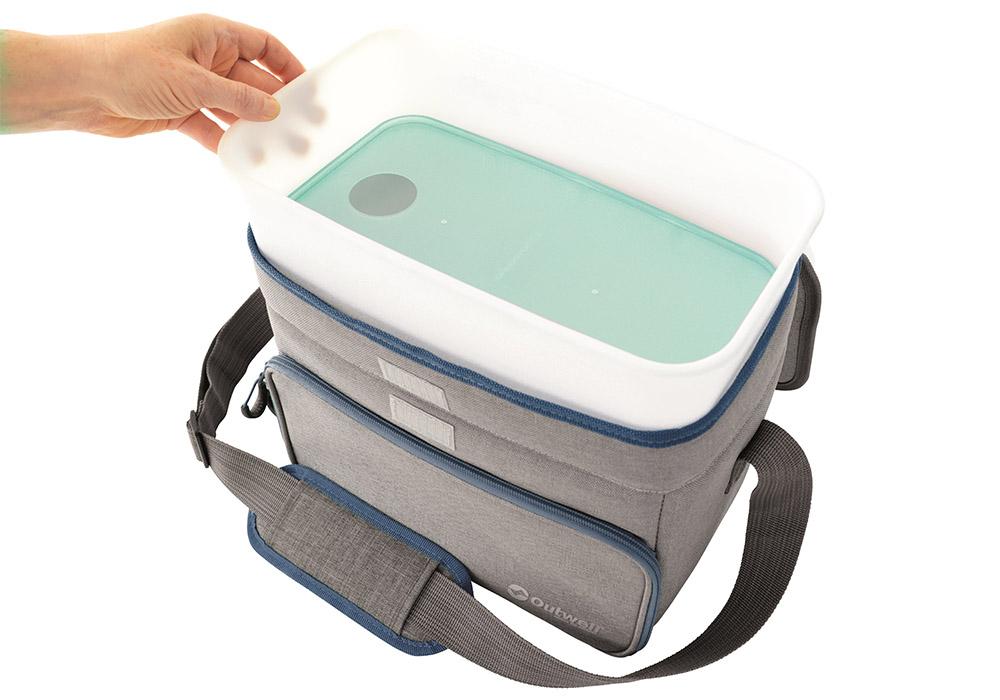 Кутия с капак на мека хладилна чанта Outwell Albatros M Green