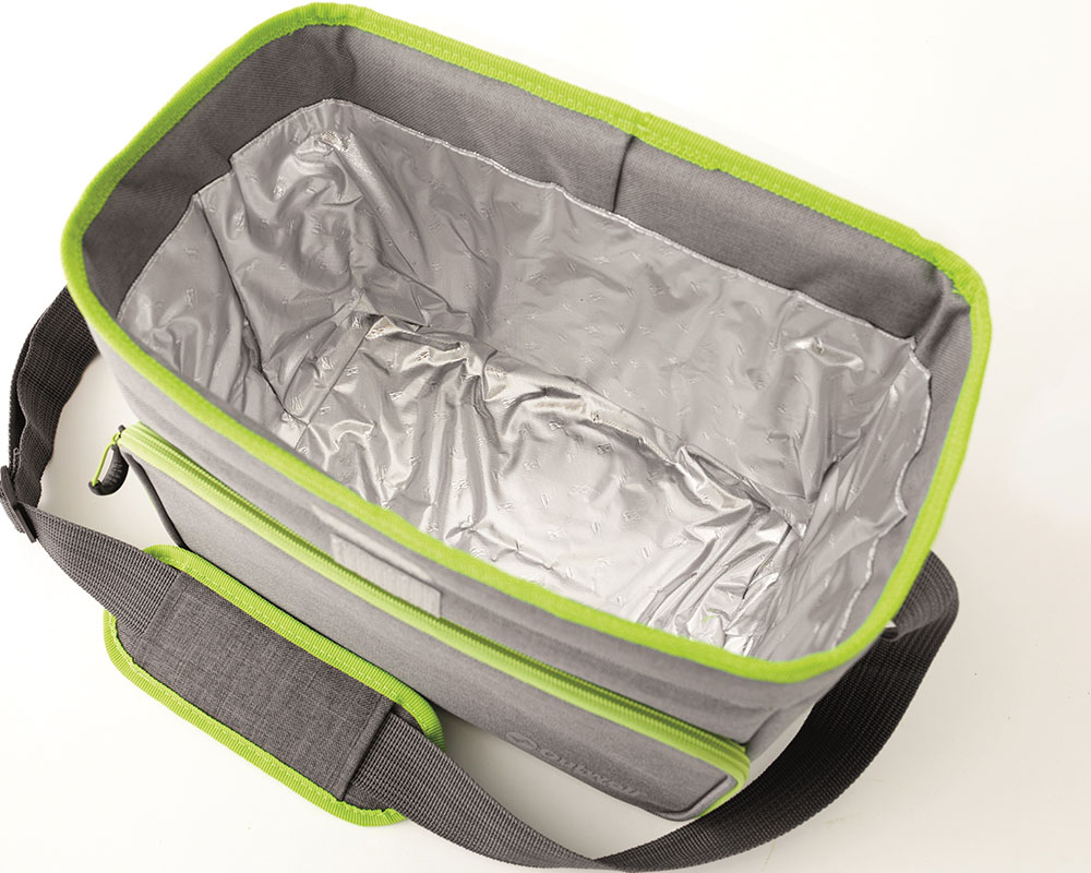 Вътрешна изолация на мека хладилна чанта Outwell Albatross L Green