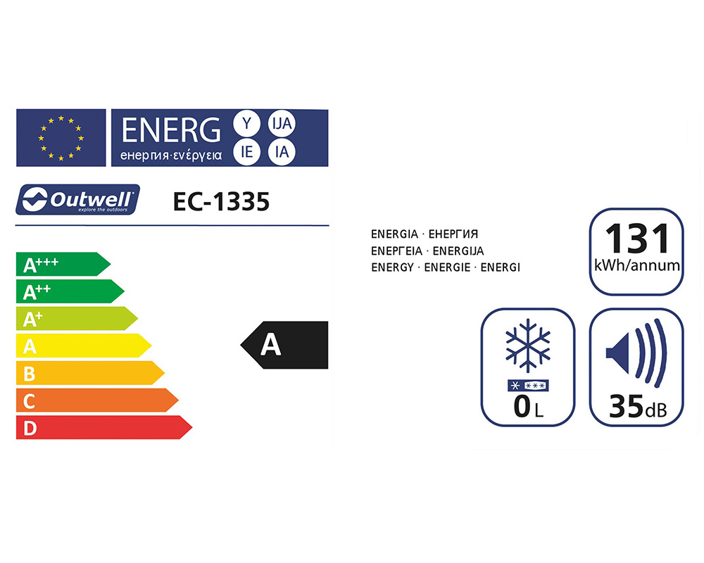 Електрическа хладилна чанта Outwell ECOcool box енергия и шум
