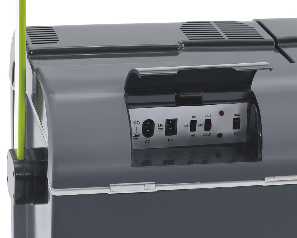Електрическа хладилна чанта Outwell ECOcool 35 литра контролен панел