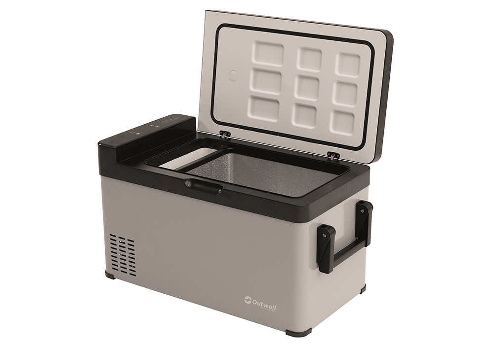 Open lid Outwell Deep Chill 38L Freezer