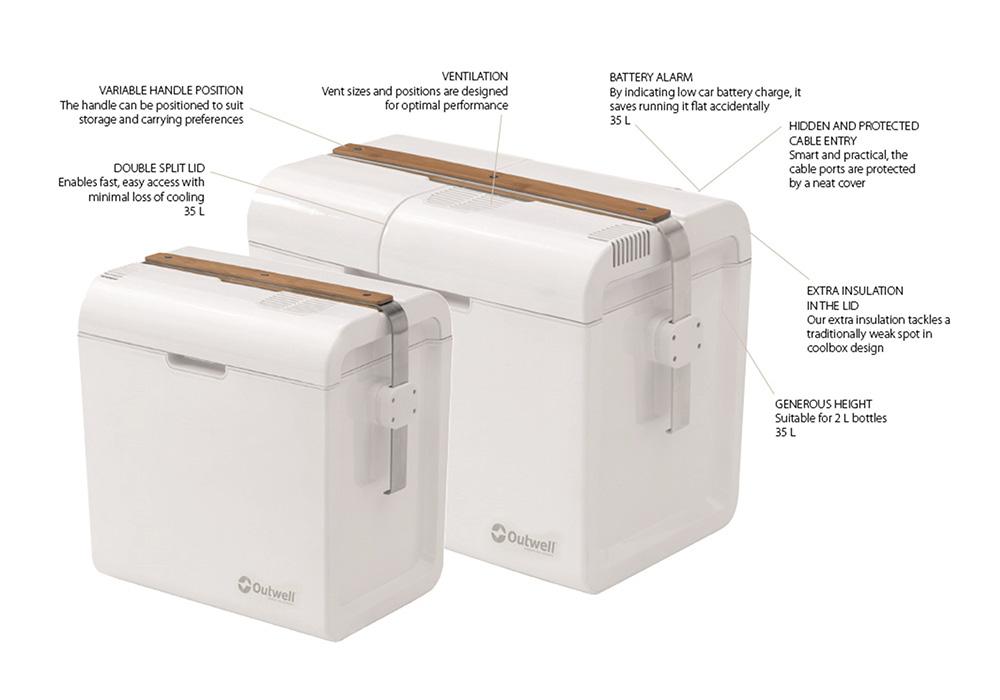 Електрически хладилни чанти Outwell ECOlux