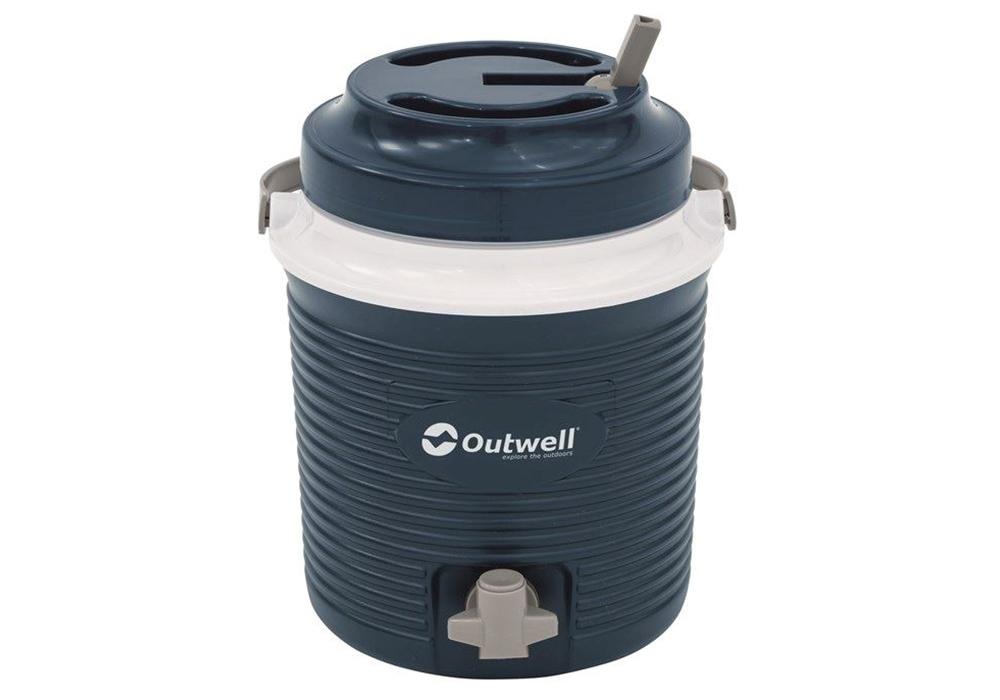 Удобен за пиене през капака термос за студени напитки Outwell Fulmar 5.8L 2019