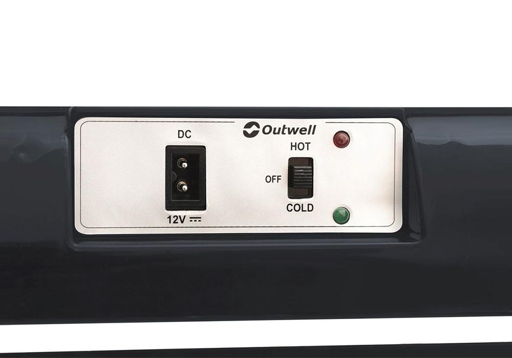 Включване охлаждане и затопляне Outwell ECOcool Lite Dark Blue 24L 12V 2020
