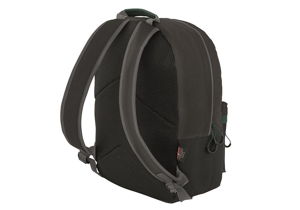 Гръб с презрамки на хладилна раница Outwell Cormorant Backpack Black 2020