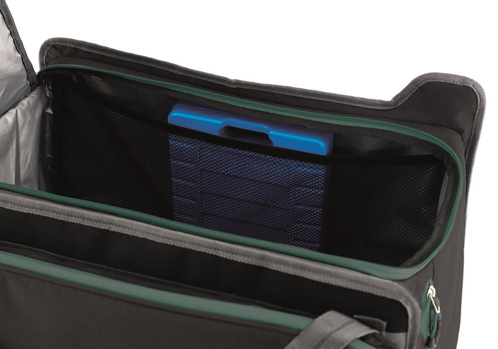 С охладилни пакети мека хладилна чанта Outwell Cormorant L 34L Black 2020